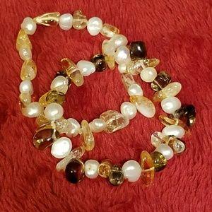 Jewelry - FAUX PEARL STRETCH BRACELETS